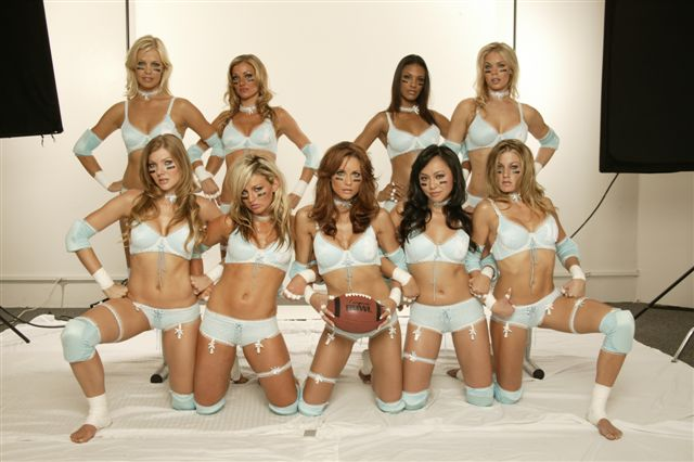 What is the LFL you might ask? It's the Lingerie Football League